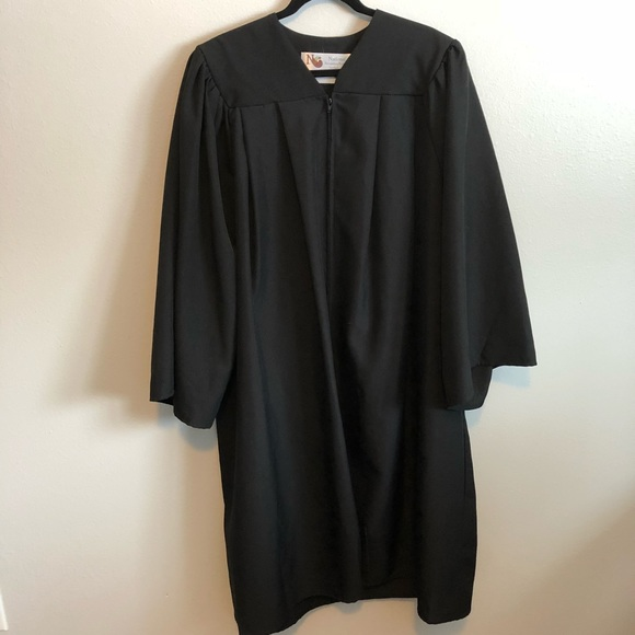 80% off National Other Black Graduation Gown | Poshmark